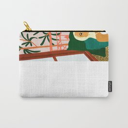 It doesn't matter where you're going, it's who you have beside you #painting #illustration Carry-All Pouch