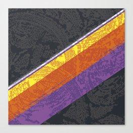 Retro Wash Canvas Print