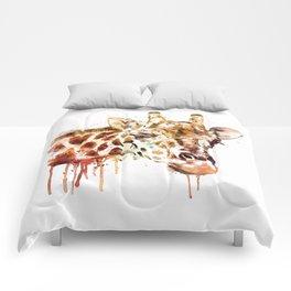 Giraffe Head Comforters