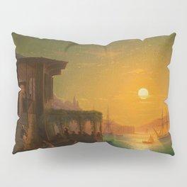 Constantinople Sunset by Ivan Aivazovsky Pillow Sham
