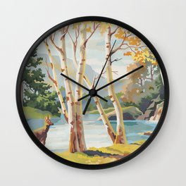 Paint by Number Reimagined  1 Wall Clock