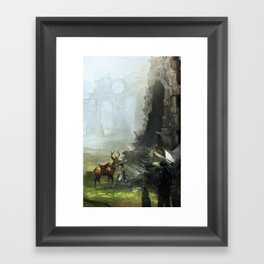 Traquility Framed Art Print