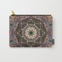 Mandala with ammonites Carry-All Pouch
