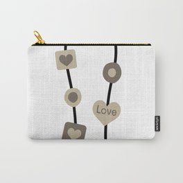 Love Beads Carry-All Pouch