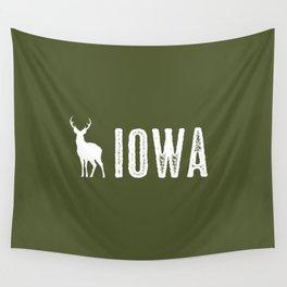 Deer: Iowa Wall Tapestry