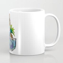 Mermaid Illustration Coffee Mug