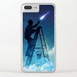 Star Builder Clear iPhone Case