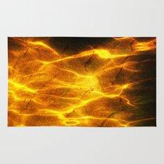 Watery Flames Rug