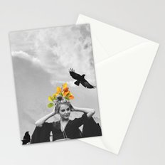 CROW GIRL Stationery Cards