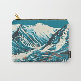 Stowe, Vermont Vintage Ski Poster Carry-All Pouch