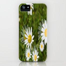 Daisies in a Blur iPhone Case