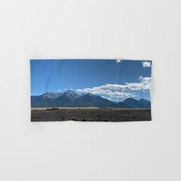Colorado Mountain Landscape Hand & Bath Towel