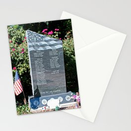 Hood Park Memorial -horizontal Stationery Cards