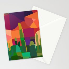 Botanical Wonderland - Cactus Garden Bybrije Stationery Cards