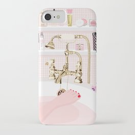 The Pink Bath iPhone Case