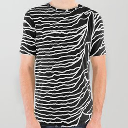Joy Division - Unknown Pleasures All Over Graphic Tee