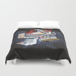Citadel of the Scarab Duvet Cover