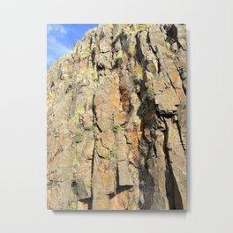 Cliffside of Súgandisey, Stykkishólmur, Snæfellsnes, Iceland (1) Metal Print
