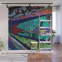 Peacock Mermaid Battlestar Galactica Abstract Wall Mural