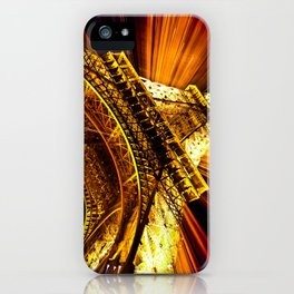 SUPERNOVA EIFFEL II iPhone Case