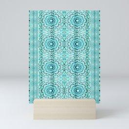 Minty Mandalas Mini Art Print