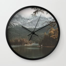 Eibsee - Landscape Photography Wall Clock
