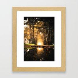 Magical Paradise (Color) Framed Art Print