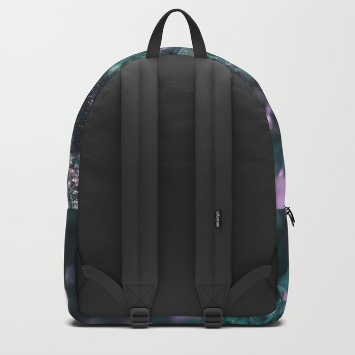 Geode Abstract Aqua Fascination Backpack