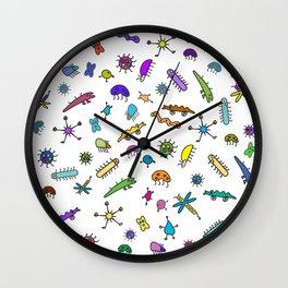 Mini Bugs and Mini Beasts Wall Clock