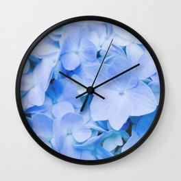 Hydrangea Macrophylla Wall Clock