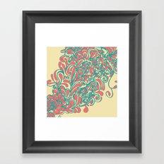 Coral  Framed Art Print
