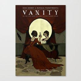 VANITY cover Canvas Print