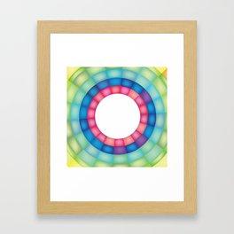 Grid Study - Close Up Framed Art Print