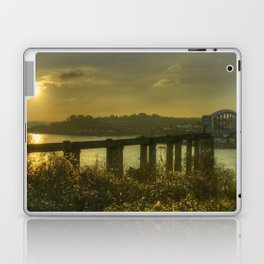 Brunel Bridge Sunset Laptop & iPad Skin