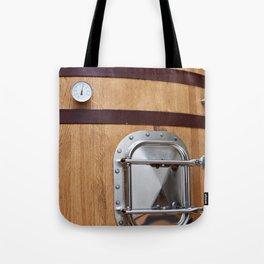Wooden tank barrel for wine Tote Bag