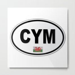 CYM Plate Metal Print