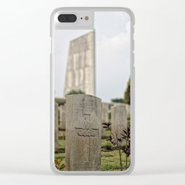 Honor Thy Fallen Clear iPhone Case