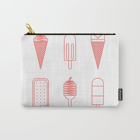 Ice creams (alternate version) Carry-All Pouch