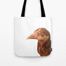 chicken stink eye Tote Bag