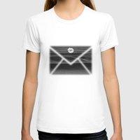 return T-shirts featuring Return Address by notchildfriendly