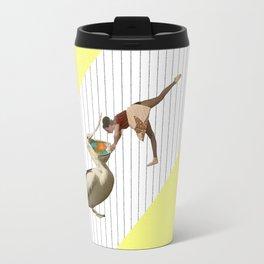 inside a pelican's beak ! Travel Mug