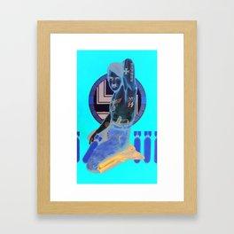Der Fliegen Fuhrer Framed Art Print