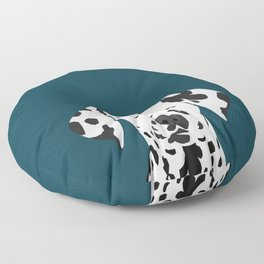Ryan - Dalmatian art print phone case decor for pet lover and dog lover Floor Pillow
