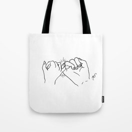 Pinky Promise 1 Tote Bag
