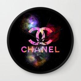 Fashion Colored Smoke Wall Clock