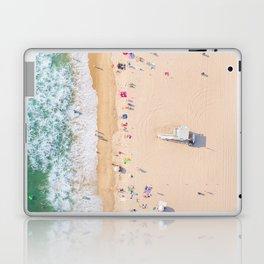 Beach Aerial Laptop & iPad Skin