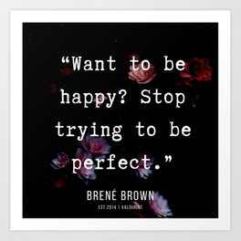 30  | Brene  Brown Quotes  | 190717 | Art Print