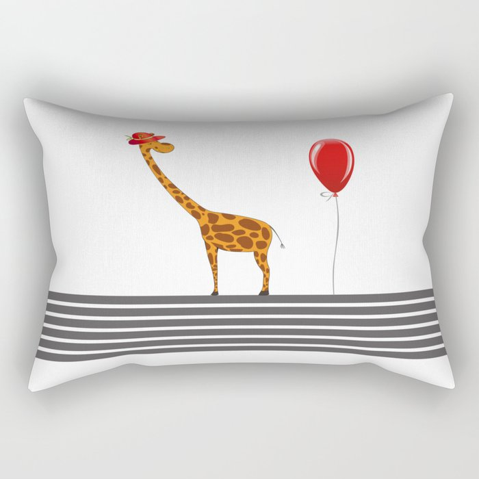 My Girrafe Rectangular Pillow