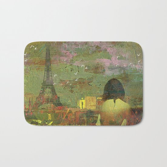 On the roofs of Paris Bath Mat