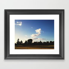 Open Fairway Framed Art Print